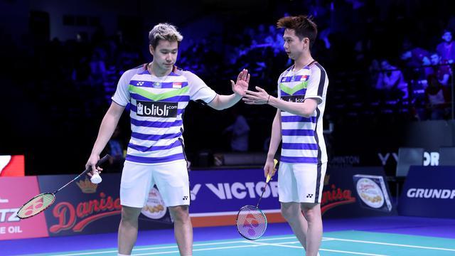Indonesia Open 2019. Marcus & Kevin Melenggang Mudah Keperempat Final