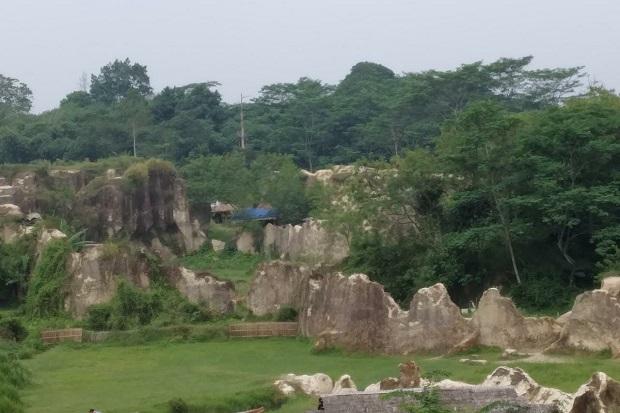 Disporabudpar Datangi Tempat Wisata Tebing Koja Lokasi Foto Bugil