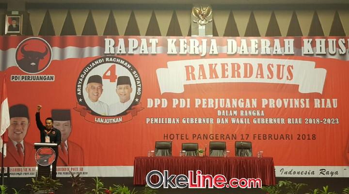 PDIP Riau Gelar Rakerdasus Bahas Pilkada
