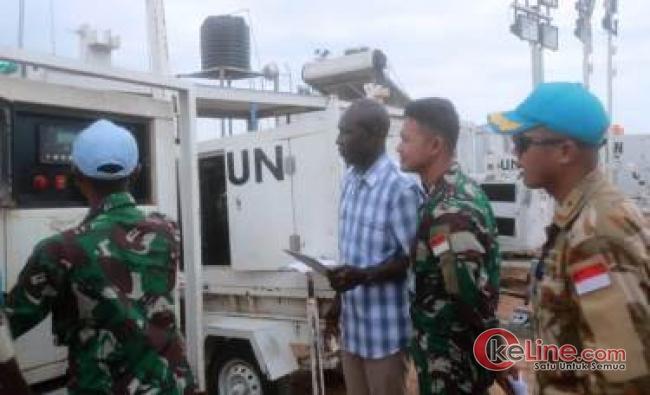 COE Bukavu di Republik Demokratik Kongo Kunjungi Satgas TNI