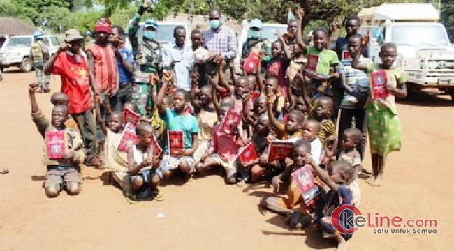 Satgas INDO RDB XXXIX-B Damaikan 3 Suku Bertikai di Kongo