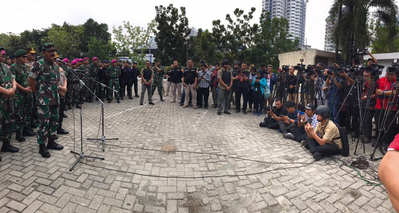 Panglima TNI Bersama Kapolri Sukses Amankan Pelantikan Presiden dan Wapres RI