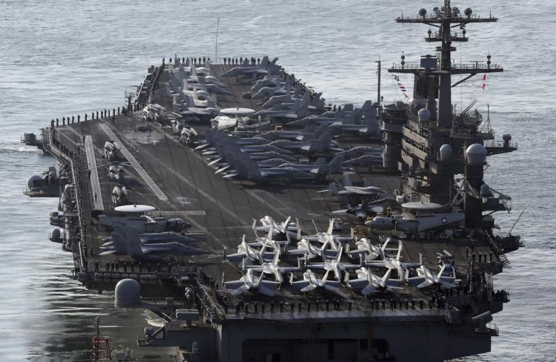 Korut Ancam Karamkan Kapal Induk AS