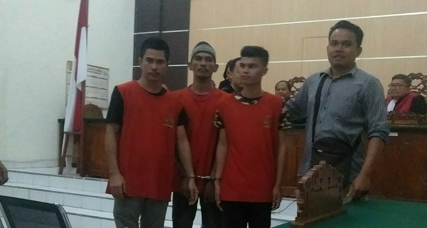 Bawa Sabu Sabu 15 Kg dari Malaysia, Tiga Terdakwa  Dituntut Seumur Hidup
