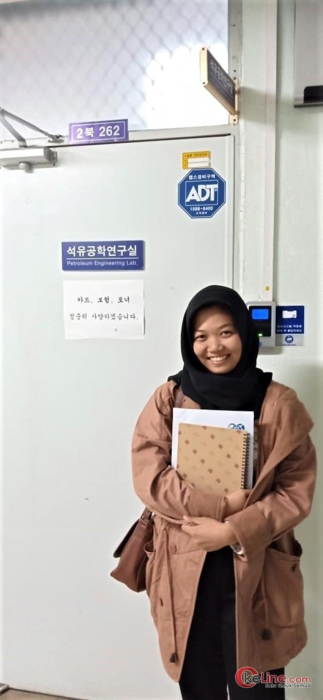 PT. CPI Gagas Program URP, Mahasiswi di Riau Magang Ke Korea Selatan