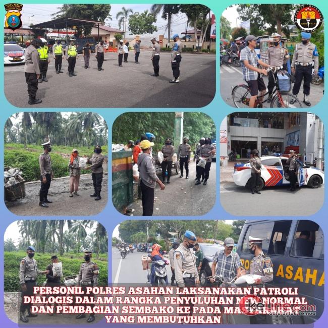 Jaga Keamanan Kamtibmas, Polres Asahan Gelar Patroli