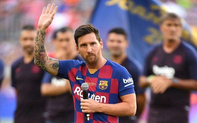RESMI !! Leo Messi Absen Tour Ke Amerika Akibat Cedera Betis