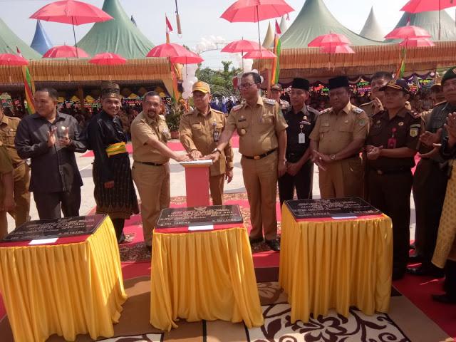 Dirjen Kemendagri Resmikan Kode Wilayah Tiga Kecamatan Di Rohil