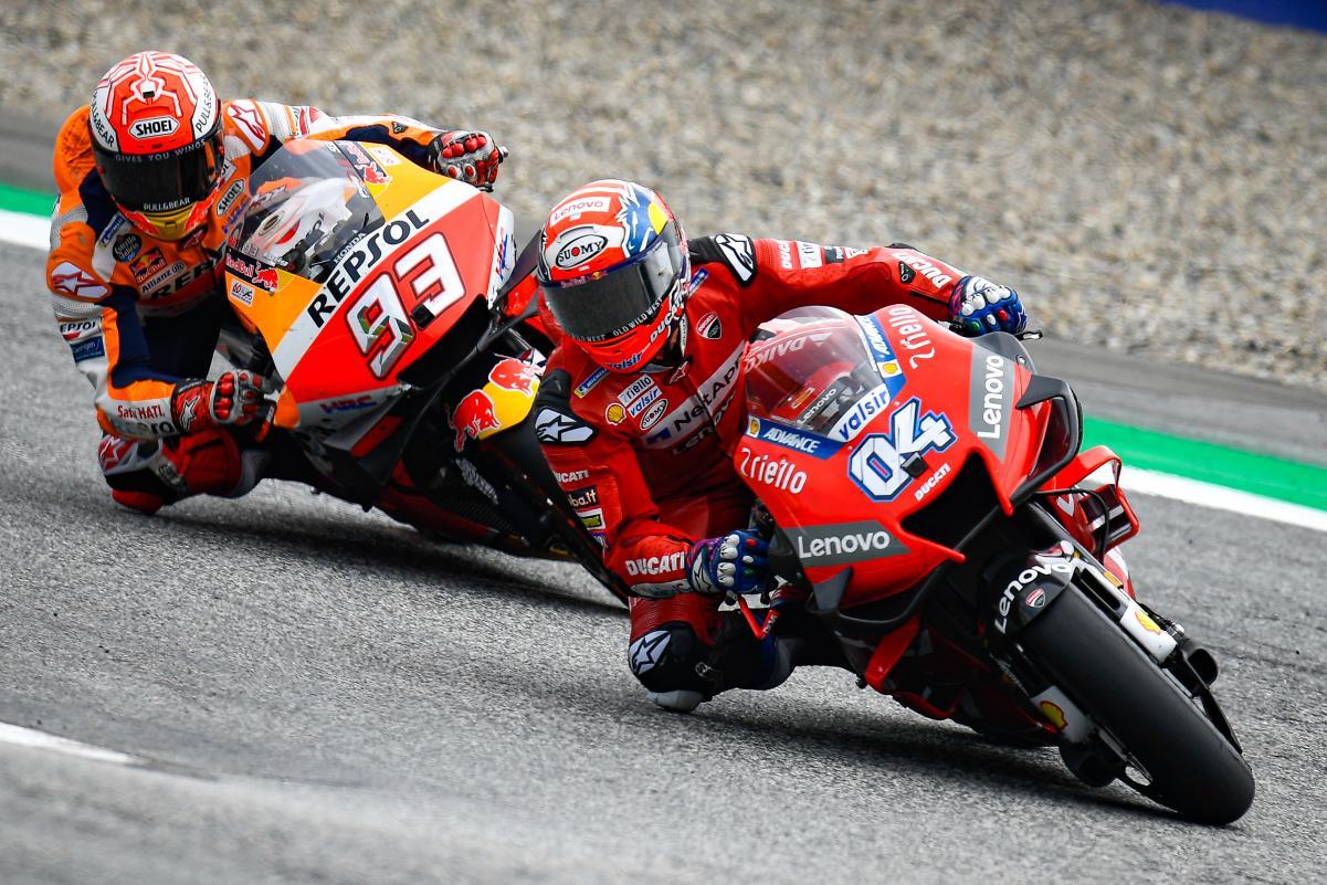 Dovizioso Beri Apresiasi Kepada Marquez yang Berhasil Menjadi Juara Dunia MotoGP 2019