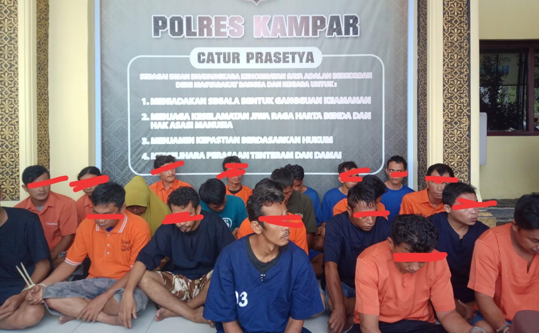 Oknum Anggota Polisi di Kampar Riau ditangkap, diduga Edarkan Shabu