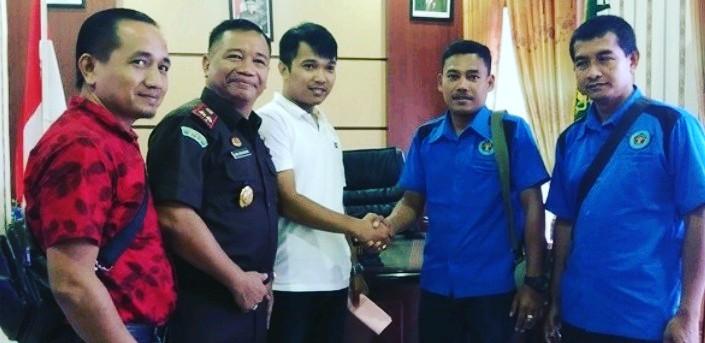 Perseteruan Oknum JPU Dan Salah Satu Wartawan Di Rohil,  Akhirnya Sepakat Berdamai.
