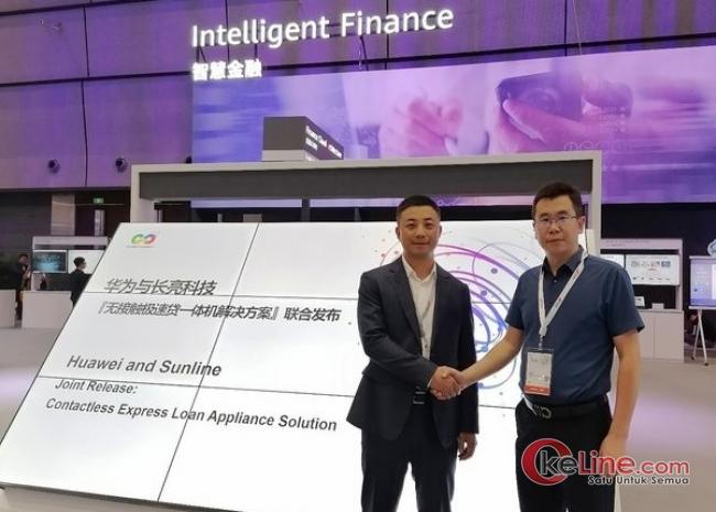 Sunline dan Huawei Luncurkan Solusi dengan Fitur Tanpa Sentuhan
