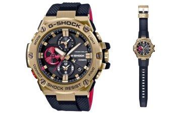 Casio Rilis jam GST-B100RH Model G-SHOCK Terbaru yang Tahan Benturan