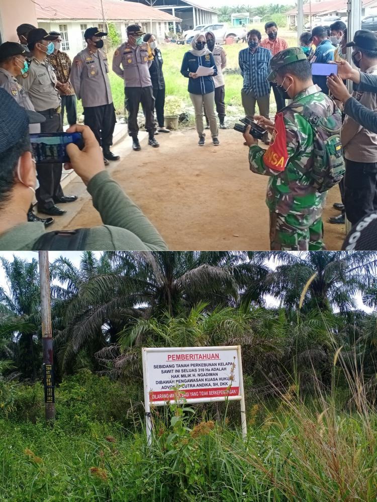 Kelompok Tani Jaya Abadi  Ajukan Keberatan ke PN Rohil Saat Gelar Constatering