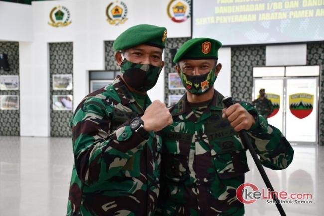 Putra Bandar Pulau Asahan Pegang Komando Kodim 0201/BS Medan