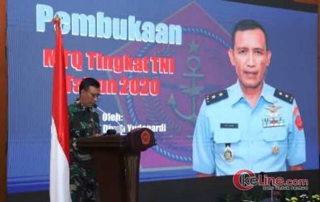 Guna Membina Spritualitas Prajurit, Mabes TNI Gelar MTQ TA 2020
