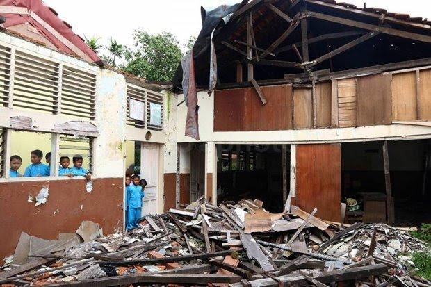 Disdik Rohil Himbau Kontraktor Pelaksana Pembangunan dan Rehab 38 Sekolah siap Tepat Waktu