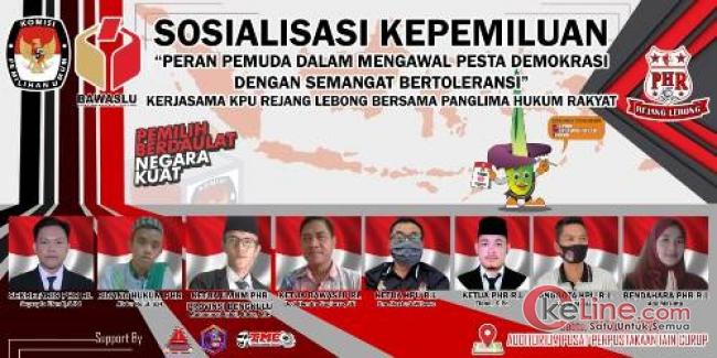 PHR dan KPU Rejang Lebong Sosialisasi Pilkada Pada Pemilih Pemula