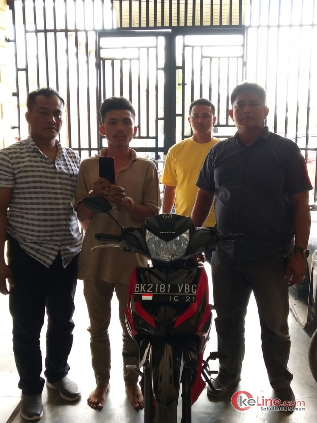 Polsek Kota Kisaran Tangkap Robby Pelaku Jambret di Jalinsum