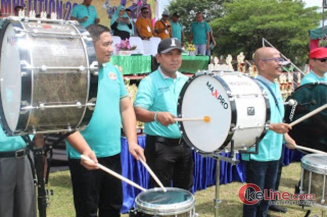 Bupati Asahan Beserta Kapolres Hadir Pembukaan Marching Band Competition Tahun 2019
