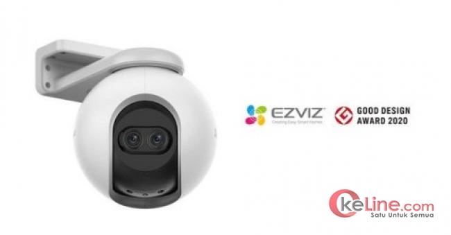 """Di Jepang Kamera Smart Home EZVIZ Raih """"2020 Good Design Award"""""""