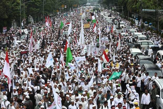 GNPF Turunkan 5 Juta Massa di Aksi Bela Islam 55