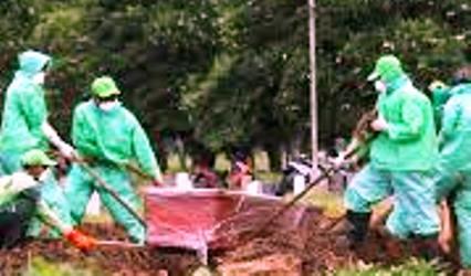 Video Peti Mayat PDP Terbuka Dalam Kubur di Palembang Viral