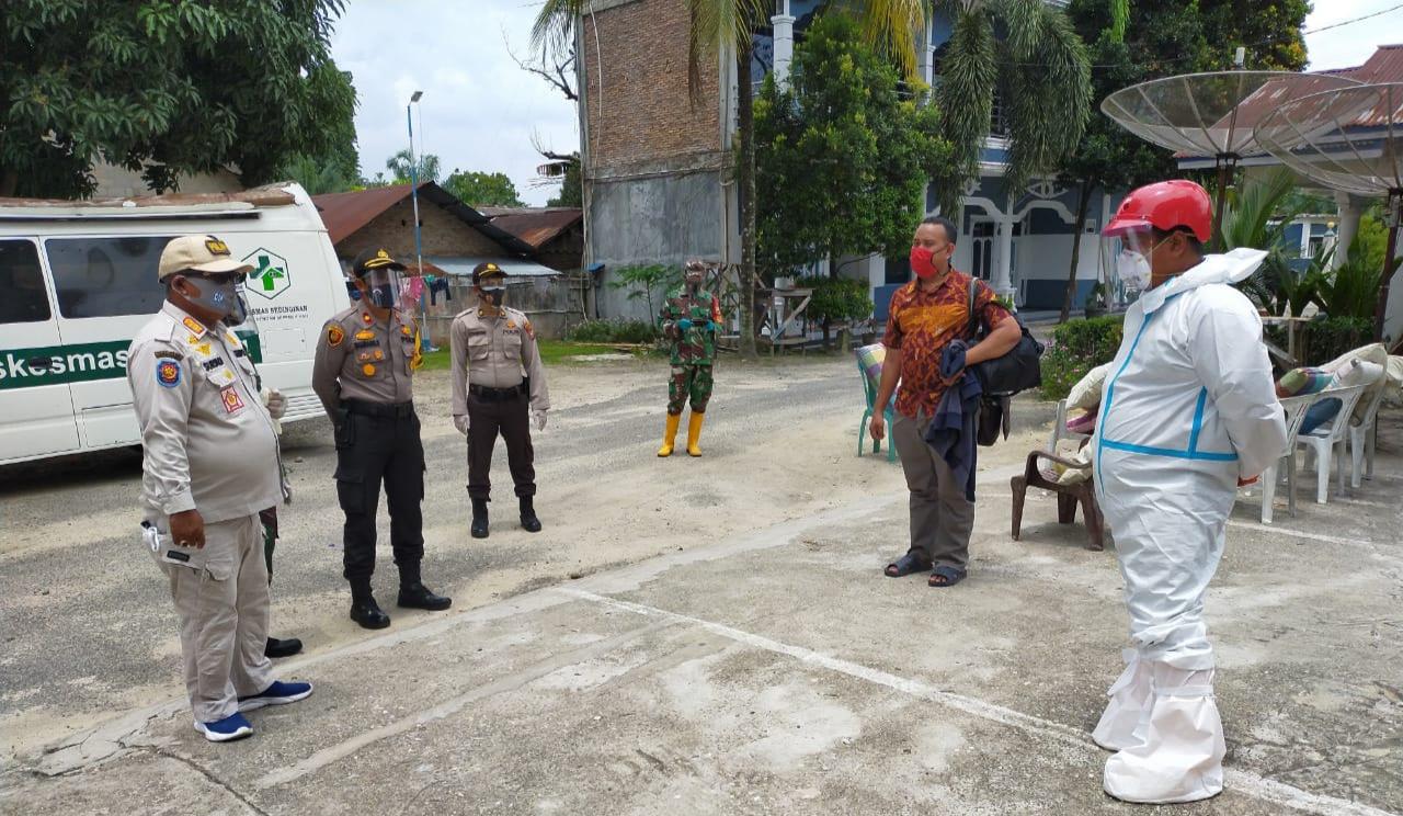 Terpapar Covid -19,   5 Orang Pekerja  Hotel di Evakuasi ke Puskesmas Sedinginan