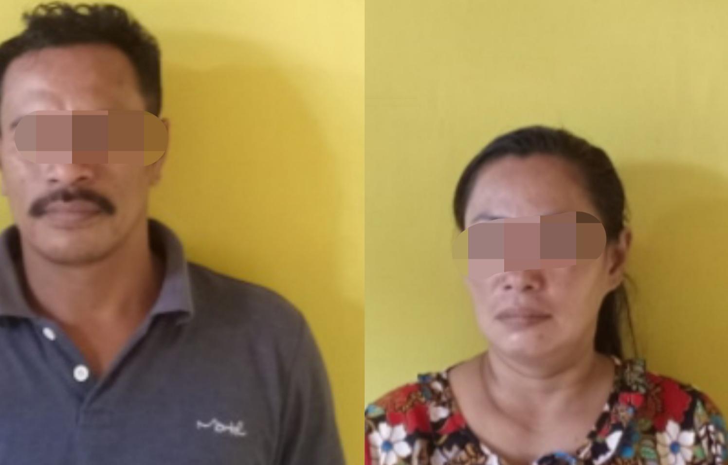 Tidak Mau Kapok , Mantan Napi Narkotika Bersama Istrinya Kembali di Ciduk Polisi   .