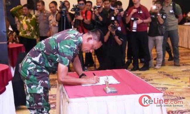 Panglima TNI Deklarasi Penandatanganan Papua Damai