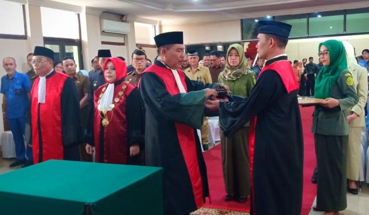 Waka PN Rohil Jabat Posisi Ketua PN Bengkalis