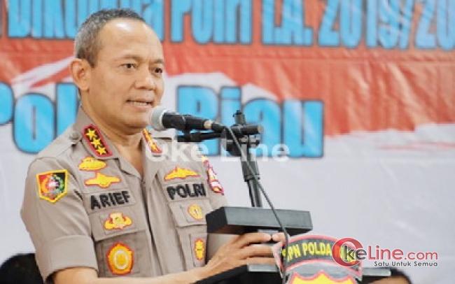 Kalemdiklat Polri: Walau Fasilitas SPN Polda Riau Minim, Tapi Anggotanya Harus Berkualitas