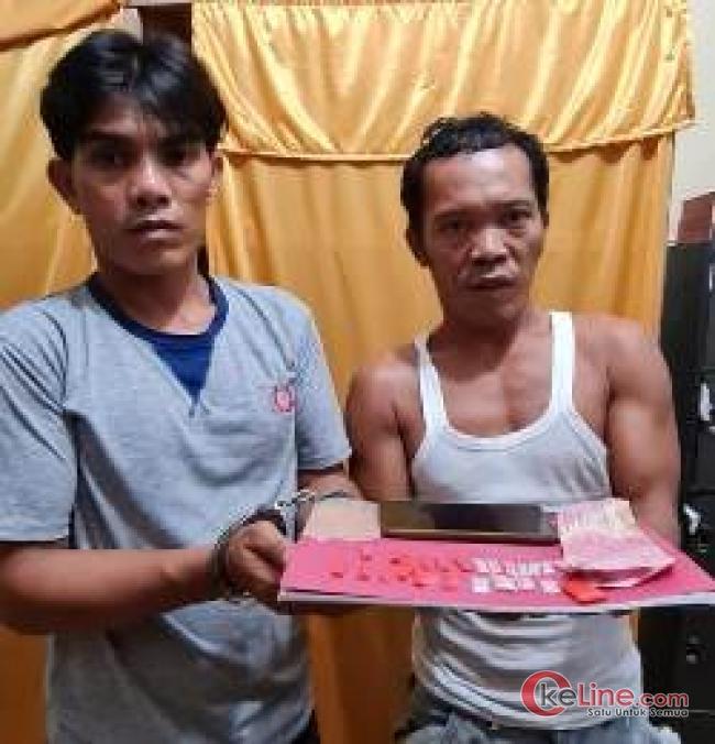 Polsek Bandar Pulau Berhasil Ringkus Pengedar Narkoba kawakan
