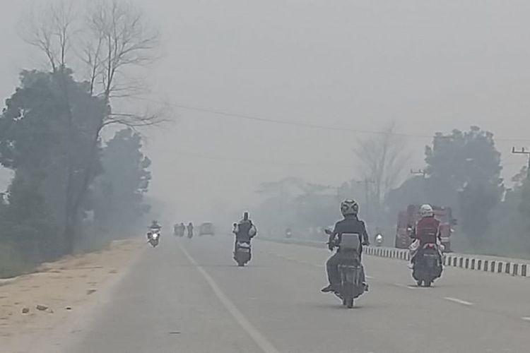 Formasi Riau Berencana Bawa Masalah Kabut Asap di Riau ke Ranah Internasional.