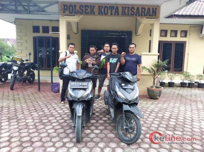 Sepeda Motor Salma Hilang,2 Pencuri Digiring Kepolsek Kota Kisaran