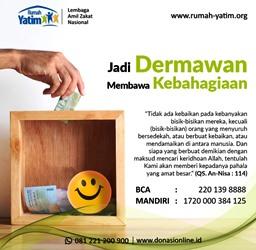 Tips Mencapai Kebahagiaan, Jadilah Dermawan!