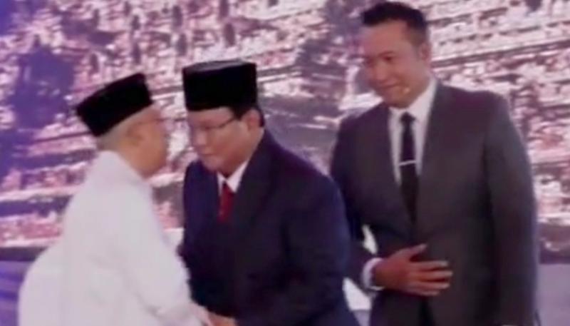 """Debat Pertama Capres-Cawapres Kubu 02 Klaim """"Serasi"""""""