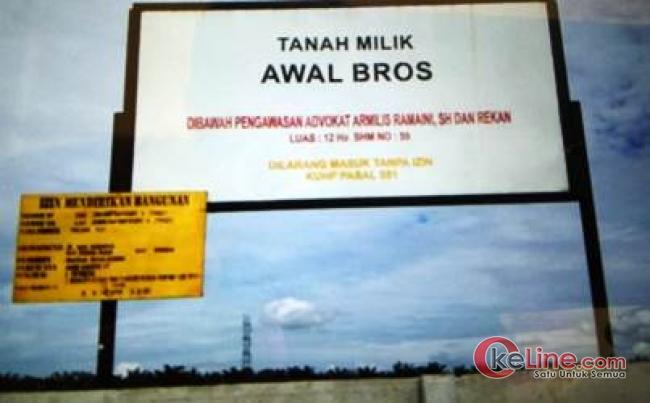 Luluh Lantak Lahan Warga Muara Pajar, PT. ACS Tutup Kuping