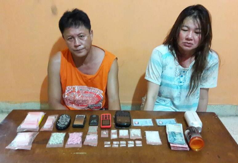Polisi Tangkap Sepasang Pengedar Sabu di Duri