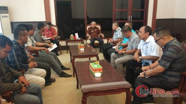 Forum Komunikasi PLD Audensi Dengan Bupati Asahan