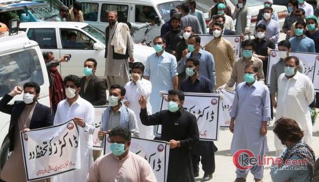Baru Rencana Cabut Lockdown, Pakistan Kebanjiran Kasus Corona
