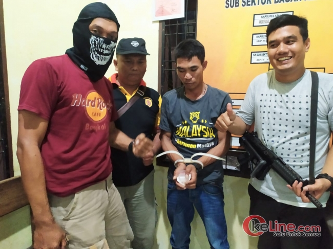 Dibunyikan Simpan Shabu,Dedi Ditangkap Polsek Sei Kepayang