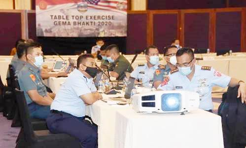 Table Top Joint Exercise Gema Bhakti 2020 Ditutup Waasops Panglima TNI