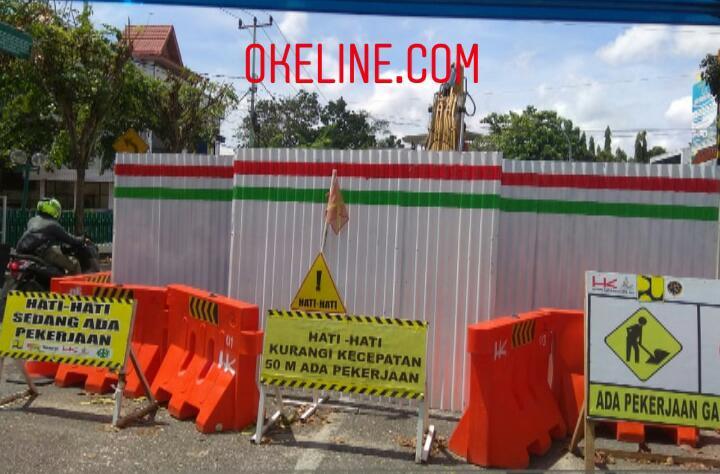 Proyek Ipal di Jalan Sukajadi Kota Pekanbaru di Prediksi Akan Rampung Desember 2020