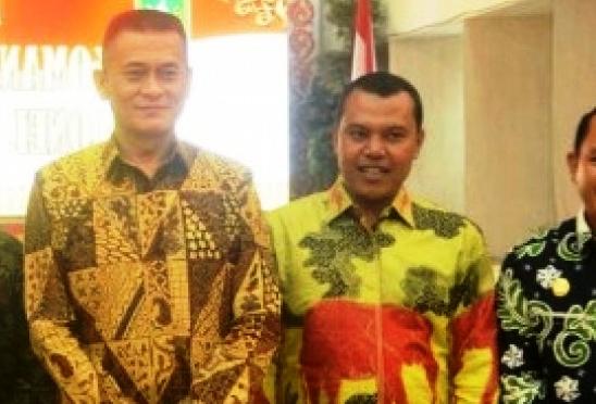 Pejabat Pemkab Inhil Ramah Tamah dengan Danrem) 031/ Wira Bima