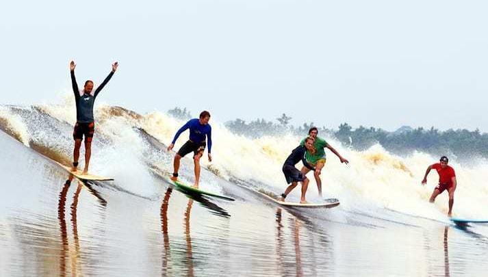 Peselancar Dunia dan Nasional Akan Meramaikan Event  Bono Surfing Kabupaten Pelalawan 2019