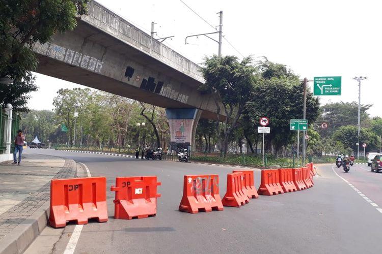 Polda Metro Jaya Tutup Sementara Ruas Jalan Sekitar Istana Merdeka Terkait Adanya Demo