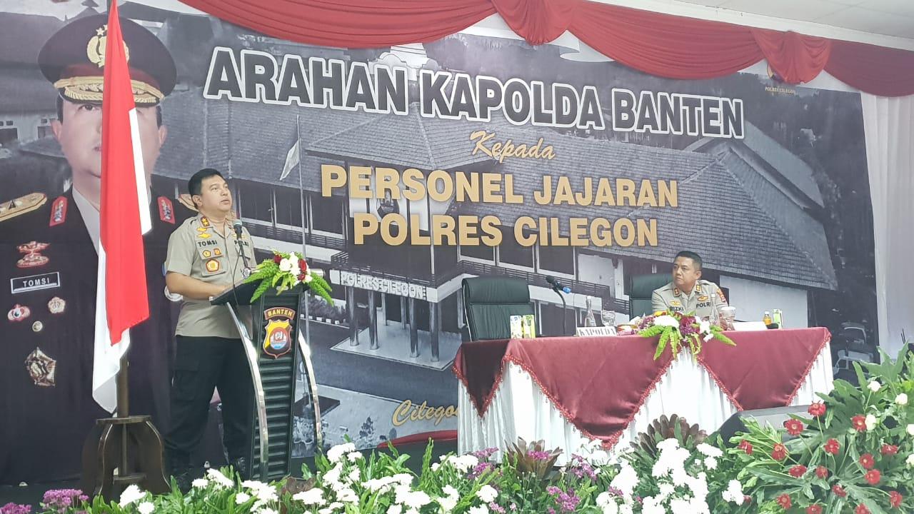 Kapolda Banten : Bekerja Dengan Hati Ikhlas Dalam Layani dan Menjaga Ketertiban Masyarakat