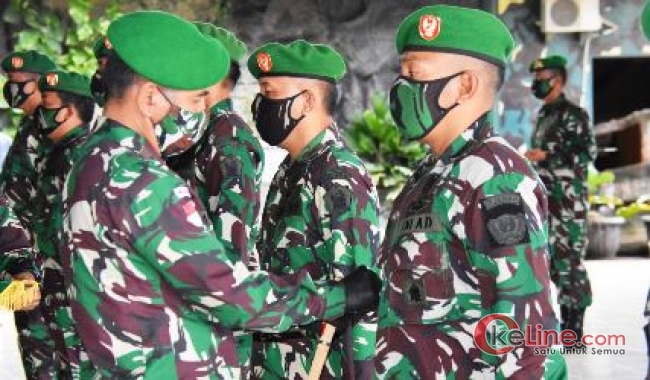 Danrem Merauke Pimpin Acara Serah Tugas Jabatan Perwira Korem 174