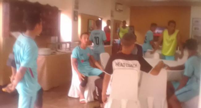 Pemain Dan Official Tim Persiraja Banda Aceh Nginap Di Hotel Pia Pangkalpinang
